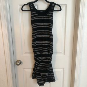 Black Liz Lange maternity dress
